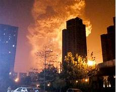 Tianjin China Explosion - explosion in tianjin china