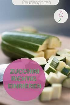 zucchini einfrieren und haltbar machen in 2020 zucchini