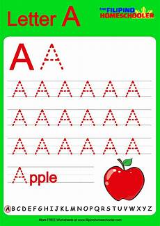 free uppercase letter tracing worksheets the homeschooler