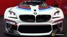 Bmw M6 Race Car by 2016 Bmw M6 Gt3 Race Car 2015 Frankfurt Motor Show