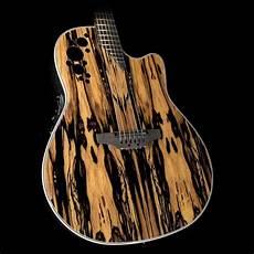wood acoustic guitars ovation c2078axp re wood elite plus acoustic guitar royal the zoo