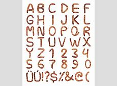 A Gallery of Handmade Non Traditional Fonts