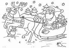 malvorlage weihnachten schlitten malvorlagen 4
