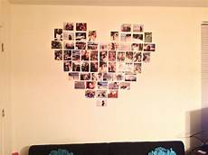collage on the wall