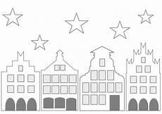 Fensterbilder Weihnachten Vorlagen Kostenlos Zum Ausdrucken Historisches St 228 Dtchen Zum Ausdrucken Fensterbilder