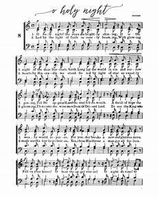 o holy night free printable christmas sheet music our