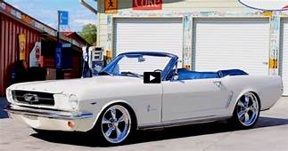 FABULOUS 1965 FORD MUSTANG CONVERTIBLE RESTO MOD  HOT CARS