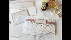 make your own luxury wedding invitations diy wedding