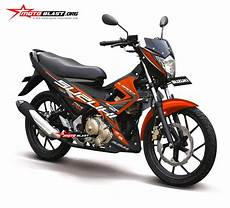 Modifikasi Satria Fu 2018 by Modifikasi Striping Suzuki Satria Fu 150 2014 Motoblast