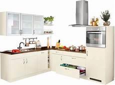 Einbauküche L Form Mit Elektrogeräten - winkelk 252 che