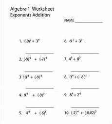 algebra worksheets with answers homeschooldressage com