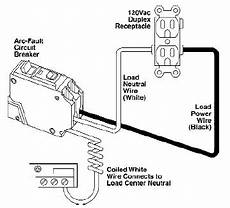 Nec Gfci Circuit Breaker Wiring Diagram by How To Install A Arc Fault Circuit Breaker Interrupter