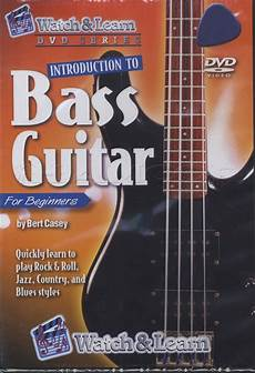 Introduction To Bass Guitar For Beginners Tuition Dvd
