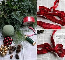 türkranz selber basteln anleitung weihnachtsdeko selber machen als