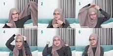 6 Tutorial Pashmina Untuk Wanita Berkacamata Simple