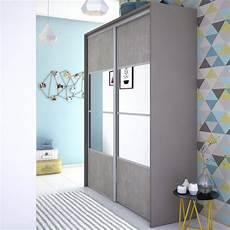 porte de placard miroir porte de placard coulissante effet b 233 ton miroir spaceo l