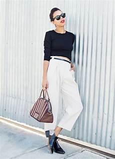 Style Noir Et Blanc Femme