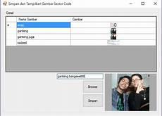 Simpan Dan Tilkan Gambar Vb Net Database Sql Server