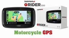 overview of tomtom rider 550 motorcycle gps