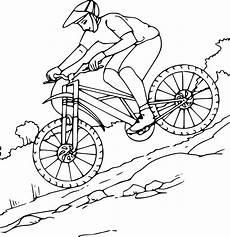 image vélo à imprimer coloriage de v 233 lo vtt 224 imprimer sur coloriage de