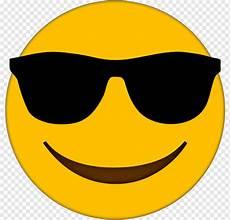 Ilustrasi Emoticon Tersenyum Kacamata Emoji Kacamata