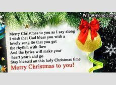 wish u a merry christmas lyrics