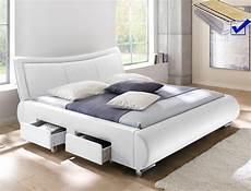 Polsterbett Lando Bett 180x200 Cm Wei 223 Mit Lattenrost Und