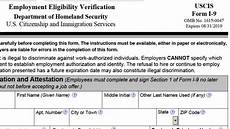 new i 9 form released required after jan 22 2017