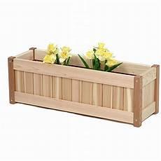 cedar planter box 30 inches rectangle pl30