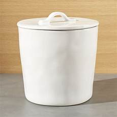 white ceramic kitchen canisters shop marin large white ceramic kitchen canister designed