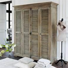 porte placard persienne bois