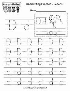 free letter d worksheets for kindergarten 23468 letter d writing practice worksheet free kindergarten worksheet for