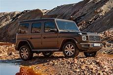 2019 mercedes g class is bigger beefier and more
