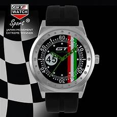 Sports Car Watches by Luxury Brand Gt No 45 Driver Car Racing Sport S