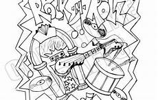 rock and roll color sheets coloring sheets rock and