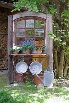 Gartendeko Aus Alten Sachen - gartendekoration mit alten sachen