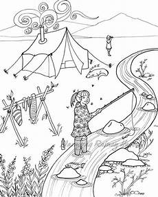 alaska animals coloring pages 16895 late summer cing alaska coloring page and print your own