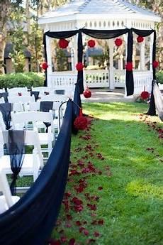 black outdoor weddi ng outdoor wedding black amd and black wedding
