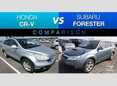 Honda CR V vs Subaru Forester: Classic Crossover Comparison