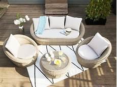 meuble jardin pas cher salon de jardin bas 5 places portefino ermanno g meubles