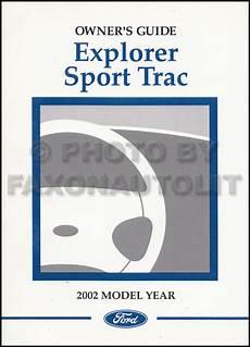 automotive repair manual 2002 ford explorer sport electronic valve timing 2002 ford explorer sport sport trac repair shop manual original set