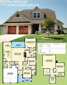 2800 sq ft house plans architectural designs craftsman house plan 915014chp gives