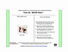 learning beginner worksheets 18218 strengthen arms and legs and task 26 walk youngsters are able to use an animal