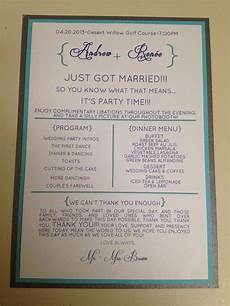 11 best wedding programs images on pinterest wedding programs wedding reception program and