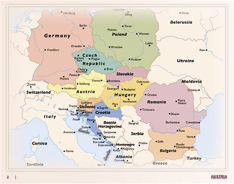 Central Eastern Europe Countries