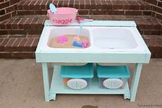 Remodelaholic Build A Sand And Water Table From An