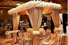 luxury wedding outdoor decorations canopy curtain in chagne colors banquet reception hall