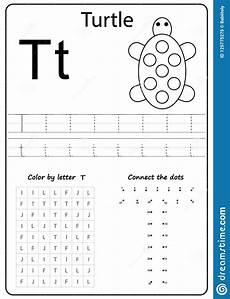 letter t worksheets for preschoolers 23653 writing letter t worksheet writing a z alphabet exercises for stock vector