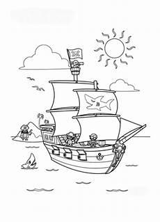 Malvorlagen Kostenlos Piraten Ausmalbild Piratenschiff Kostenlos 3 Piraten Schiff