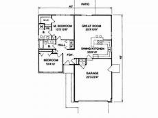 2 br 2 ba house plans ranch style house plan 2 beds 2 00 baths 1100 sq ft plan